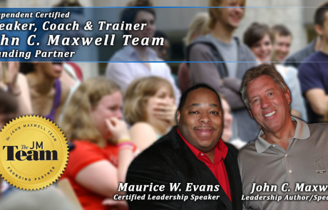 Certified Speaker, Trainer & Coach John Maxwell Team (Founding Member)